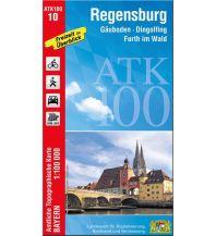 Bayerische ATK100-10, Regensburg 1:100.000 Bayerisches Landesamt für Digitalisierung, Breitband und Vermessung