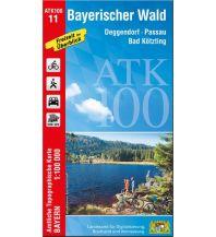 ATK100-11 Bayerischer Wald (Amtliche Topographische Karte 1:100000) Bayerisches Landesamt für Digitalisierung, Breitband und Vermessung