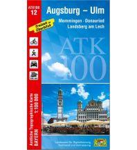 ATK100-12 Augsburg-Ulm (Amtliche Topographische Karte 1:100000) Bayerisches Landesamt für Digitalisierung, Breitband und Vermessung