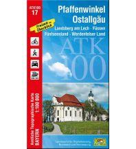 Wanderkarten Bayern ATK100-17 Pfaffenwinkel, Ostallgäu (Amtliche Topographische Karte 1:100000) Bayerisches Landesamt für Digitalisierung, Breitband und Vermessung