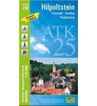 Wanderkarten Bayern Bayerische ATK25-I10, Hilpoltstein 1:25.000 Bayerisches Landesamt für Digitalisierung, Breitband und Vermessung