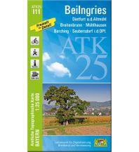 Wanderkarten Bayern Bayerische ATK25-I11, Beilngries 1:25.000 Bayerisches Landesamt für Digitalisierung, Breitband und Vermessung
