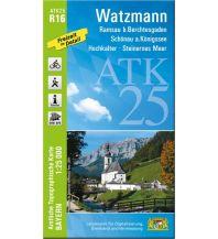 Wanderkarten Salzburg Bayerische ATK25-R16, Watzmann 1:25.000 Bayerisches Landesamt für Digitalisierung, Breitband und Vermessung
