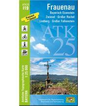 Wanderkarten Bayern Bayerische ATK25-I19, Frauenau 1:25.000 Bayerisches Landesamt für Digitalisierung, Breitband und Vermessung