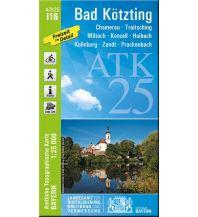 Wanderkarten Bayern Bayerische ATK25-I16, Bad Kötzting 1:25.000 Bayerisches Landesamt für Digitalisierung, Breitband und Vermessung