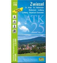Wanderkarten Bayern Bayerische ATK25-I18, Zwiesel 1:25.000 Bayerisches Landesamt für Digitalisierung, Breitband und Vermessung