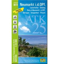 Wanderkarten Bayern Bayerische ATK25-H11, Neumarkt i.d.OPf. 1:25.000 Bayerisches Landesamt für Digitalisierung, Breitband und Vermessung