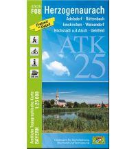 Wanderkarten Bayern ATK25-F08 Herzogenaurach (Amtliche Topographische Karte 1:25000) Bayerisches Landesamt für Digitalisierung, Breitband und Vermessung