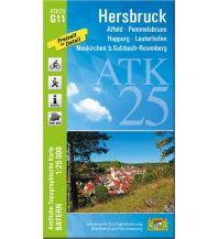 Wanderkarten Bayern Bayerische ATK25-G11, Hersbruck 1:25.000 Bayerisches Landesamt für Digitalisierung, Breitband und Vermessung