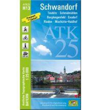 Wanderkarten Bayern ATK25-H13 Schwandorf (Amtliche Topographische Karte 1:25000) Bayerisches Landesamt für Digitalisierung, Breitband und Vermessung