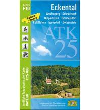 Wanderkarten Bayern Bayerische ATK25-F10, Eckental 1:25.000 Bayerisches Landesamt für Digitalisierung, Breitband und Vermessung