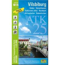 Wanderkarten Bayern ATK25-M14 Vilsbiburg (Amtliche Topographische Karte 1:25000) Bayerisches Landesamt für Digitalisierung, Breitband und Vermessung