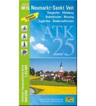 Wanderkarten Bayern Bayerische ATK25-M15, Neumarkt-St. Veit 1:25.000 Bayerisches Landesamt für Digitalisierung, Breitband und Vermessung