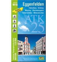 Wanderkarten Bayern Bayerische ATK25-M16, Eggenfelden 1:25.000 Bayerisches Landesamt für Digitalisierung, Breitband und Vermessung