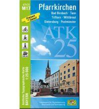 Wanderkarten Bayern Bayerische ATK25-M17, Pfarrkirchen 1:25.000 Bayerisches Landesamt für Digitalisierung, Breitband und Vermessung