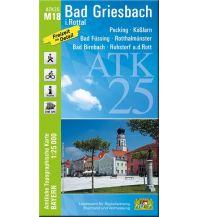 Wanderkarten Bayern ATK25-M18 Bad Griesbach i.Rottal (Amtliche Topographische Karte 1:25000) Bayerisches Landesamt für Digitalisierung, Breitband und Vermessung