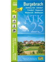 Wanderkarten Bayern Bayerische ATK25-E08, Burgebrach 1:25.000 Bayerisches Landesamt für Digitalisierung, Breitband und Vermessung