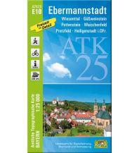 Wanderkarten Bayern Bayerische ATK25-E10, Ebermannstadt 1:25.000 Bayerisches Landesamt für Digitalisierung, Breitband und Vermessung