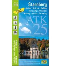 Wanderkarten Bayern Bayerische ATK25-O10, Starnberg 1:25.000 Bayerisches Landesamt für Digitalisierung, Breitband und Vermessung