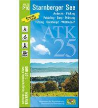 Wanderkarten Bayern Bayerische ATK25-P10, Starnberger See 1:25.000 Bayerisches Landesamt für Digitalisierung, Breitband und Vermessung
