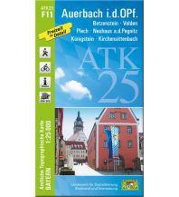 Wanderkarten Bayern Bayerische ATK25-F11, Auerbach i.d.OPf. 1:25.000 Bayerisches Landesamt für Digitalisierung, Breitband und Vermessung