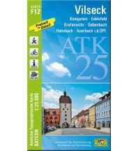 Wanderkarten Bayern Bayerische ATK25-F12, Vilseck 1:25.000 Bayerisches Landesamt für Digitalisierung, Breitband und Vermessung