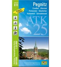 Wanderkarten Bayern Bayerische ATK25-E11, Pegnitz 1:25.000 Bayerisches Landesamt für Digitalisierung, Breitband und Vermessung