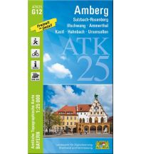 Wanderkarten Bayern ATK25-G12 Amberg (Amtliche Topographische Karte 1:25000) Bayerisches Landesamt für Digitalisierung, Breitband und Vermessung
