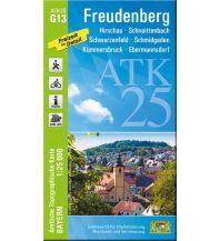 Wanderkarten Bayern Bayerische ATK25-G13, Freudenberg 1:25.000 Bayerisches Landesamt für Digitalisierung, Breitband und Vermessung