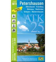 Wanderkarten Bayern Bayerische ATK25-M11, Petershausen 1:25.000 Bayerisches Landesamt für Digitalisierung, Breitband und Vermessung