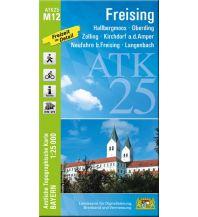 Wanderkarten Bayern Bayerische ATK25-M12, Freising 1:25.000 Bayerisches Landesamt für Digitalisierung, Breitband und Vermessung