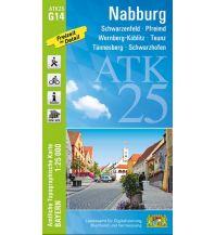 Wanderkarten Bayern ATK25-G14 Nabburg (Amtliche Topographische Karte 1:25000) Bayerisches Landesamt für Digitalisierung, Breitband und Vermessung