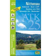 Wanderkarten Bayern ATK25-H14 Nittenau (Amtliche Topographische Karte 1:25000) Bayerisches Landesamt für Digitalisierung, Breitband und Vermessung