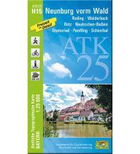 Wanderkarten Bayern ATK25-H15 Neunburg vorm Wald (Amtliche Topographische Karte 1:25000) Bayerisches Landesamt für Digitalisierung, Breitband und Vermessung