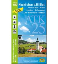 Wanderkarten Bayern ATK25-H17 Neukirchen b.Hl.Blut (Amtliche Topographische Karte 1:25000) Bayerisches Landesamt für Digitalisierung, Breitband und Vermessung