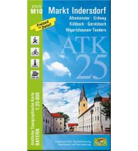 Wanderkarten Bayern ATK25-M10 Markt Indersdorf (Amtliche Topographische Karte 1:25000) Bayerisches Landesamt für Digitalisierung, Breitband und Vermessung