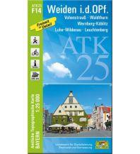 Bayerische ATK25-F14, Weiden i.d.OPf. 1:25.000 Bayerisches Landesamt für Digitalisierung, Breitband und Vermessung