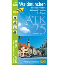 Wanderkarten Bayern ATK25-G16 Waldmünchen (Amtliche Topographische Karte 1:25000) Bayerisches Landesamt für Digitalisierung, Breitband und Vermessung