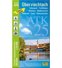 Wanderkarten Bayern Bayerische ATK25-G15, Oberviechtach 1:25.000 Bayerisches Landesamt für Digitalisierung, Breitband und Vermessung