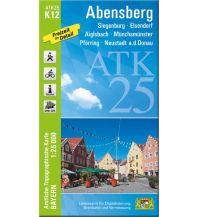 Bayerische ATK25-K12, Abensberg 1:25.000 Bayerisches Landesamt für Digitalisierung, Breitband und Vermessung
