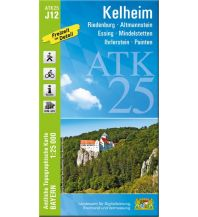 Bayerische ATK25-J12, Kelheim 1:25000 Bayerisches Landesamt für Digitalisierung, Breitband und Vermessung