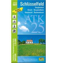 Bayerische ATK25-E07, Schlüsselfeld 1:25.000 Bayerisches Landesamt für Digitalisierung, Breitband und Vermessung
