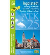 Bayerische ATK25-K11, Ingolstadt 1:25.000 Bayerisches Landesamt für Digitalisierung, Breitband und Vermessung