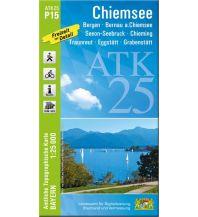 Bayerische ATK25-P15, Chiemsee 1:25.000 Bayerisches Landesamt für Digitalisierung, Breitband und Vermessung