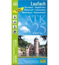 Bayerische ATK25-D02, Laufach 1:25.000 Bayerisches Landesamt für Digitalisierung, Breitband und Vermessung