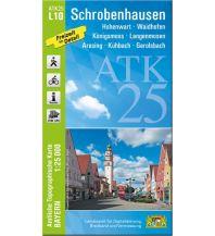 Bayerische ATK25-L10, Schrobenhausen 1:25.000 Bayerisches Landesamt für Digitalisierung, Breitband und Vermessung