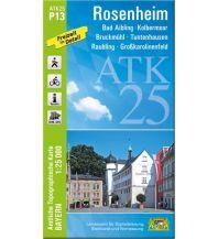Bayerische ATK25-P13, Rosenheim 1:25.000 Bayerisches Landesamt für Digitalisierung, Breitband und Vermessung