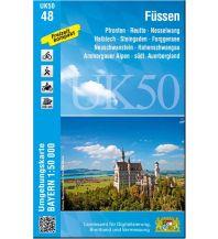 Bayerische UK50-48, Füssen 1:50.000 Bayerisches Landesamt für Digitalisierung, Breitband und Vermessung