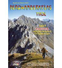 Wanderführer Bergwanderatlas Tirol / Nordtirol - von Kufstein bis Innsbruck Schall Verlag