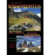 Wanderführer Bergwanderatlas Osttirol & Südtiroler Dolomiten Schall Verlag